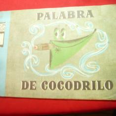 Palabra de Cocodrilo- Poveste ilustrata de Uniunea Cineastilor URSS ,18pag lb.sp