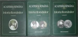 Istoria românilor - Academia Română (vol. 4, 5, 6, 7.1, 7.2, 8 - sase volume)