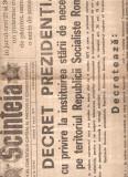 Cumpara ieftin Scanteia ziar 5 martie 1977