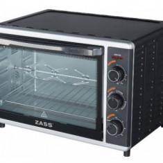 Cuptor electric cu rotisor Zass ZEO 42 CR, 42 L, 1800 W, Temporizator, Termostat (Negru)