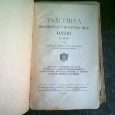 PSALTIREA PROOROCULUI SI IMPARATULUI DAVID TALMACITA DE PARINTELE NICODEM