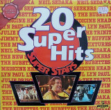 VINIL Various – 20 Super Hits - Super Stars - (-VG+) -