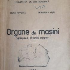 Organe de masini. Indrumar pentru proiect