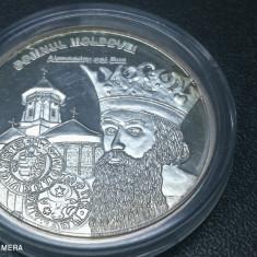 Romani Mari medalie argint pur Alexandru cel Bun