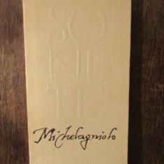 MICHELANGELO -SONETE