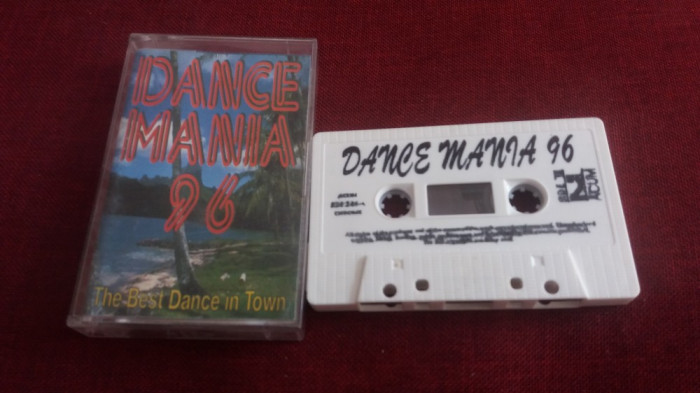CASETA AUDIO DANCE MANIA 96