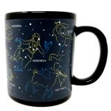 Cană ceramică termosensibilă Constelații -290ml, MikaMax