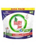 Detergent capsule pentru masina de spalat vase Fairy Jar Professional, 115 spalari
