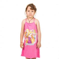 Rochie de plaja Printesele Disney roz