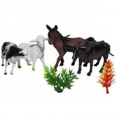Figurine animale domestice, 4 buc/set