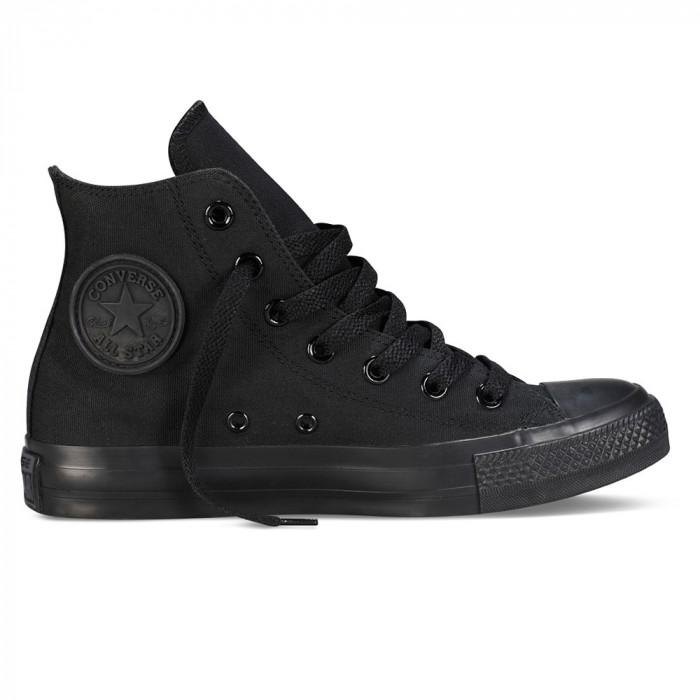 Shoes Converse Chuck Taylor AS Core Hi Black Monochrome