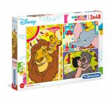 Puzzle Disney Classic, 3 x 48 piese, Clementoni