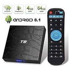 Tv Box Z T9 4GB RAM+64GB R 2.4G + 5.8G WiFi  USB3.0 BT4.1 Suport 4K Android 8.1