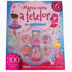 Marea carte a fetelor cu abtibilduri, 300 de abtibilduri