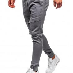 Pantaloni training cargo bărbați grafit Bolf 1003