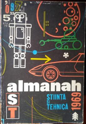 Almanah Știință și tehnică 1969 foto