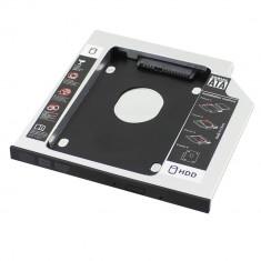 HDD Caddy laptop, grosime 9.5mm interfata sata - 650039