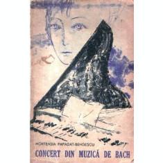 Concert din muzica de Bach. Drumul ascuns