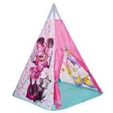 Cort de joaca pentru copii - cort inidian Minnie Mouse