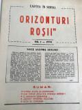 Lot Mihai Pacepa - Orizonturi Rosii 1989 1990 10 numere ziar vechi