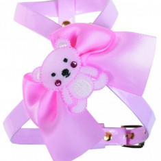 Ham Teddy - decor ursulet - Mar XXS - roz - G1205