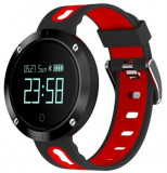 Cumpara ieftin Bratara Fitness iUni DM58 Plus, Waterproof, Display OLED, Ceas, Pedometru, Monitorizare puls, Notificari, Rosu