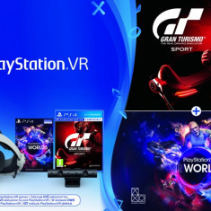 SONY PS VR + DEMO DISC + CLOTH