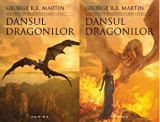 Cumpara ieftin Dansul dragonilor. Saga Cantec de gheata si foc. Cartea 5. Volumele I, II/George R.R. Martin