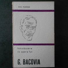 DINU FLAMAND - INTRODUCERE IN OPERA LUI G. BACOVIA