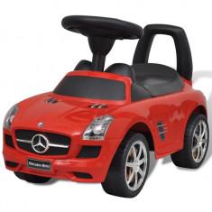 Mașină pentru copii fără pedale Mercedes Benz Roșu