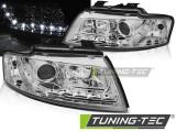 Faruri AUDI A4 B6 Cabrio 02-06 LED Crom