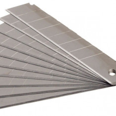 Lame rezerva cutter 18x100 mm 10 buc Gadget DiY
