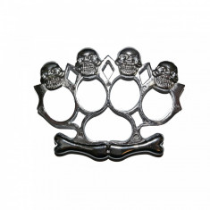 Box Rozeta model Craniu argintiu