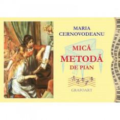 Mica metoda de pian (ed. a VII-a)color - Cernovodeanu M.