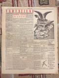 ZIAR AFIS, 1938, ARTICOLE LEGIONARI  - CAMASA VERDE, GARDA IARASI LA LUCRU...