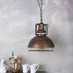 Lampa industriala de tavan cu un bec Edison GMF012