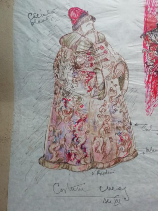 Desen de scenografie pentru teatru - detalii