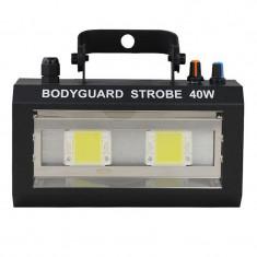 Stroboscop LED Bodyguard, 40 W, culoare alba