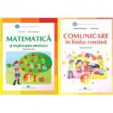Set Manuale - Comunicare in limba romana si Matematica si explorarea mediului pentru clasa I, autor Tudora Pitila, Cleopatra Mihailescu