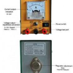 Sursa de alimentare, laborator, reglabil 15 V / 2A - PS1052S