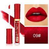 Ruj Lichid Mat Kiss Beauty VIP Long Lasting Formula 09#
