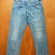 Blugi Armani Jeans Indigo 05; marime 34, vezi dimensiuni; impecabili, ca noi