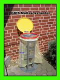 Cumpara ieftin GIES suport colier galben pentru colectoare de deșeuri,mic defect