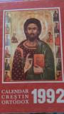 Calendar crestin ortodox  1992
