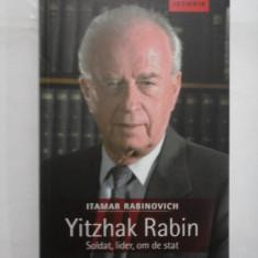 YITZHAK RABIN - ITAMAR RABINOVICH