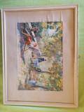 """Pictura in rama """"La siesta"""" 1950"""
