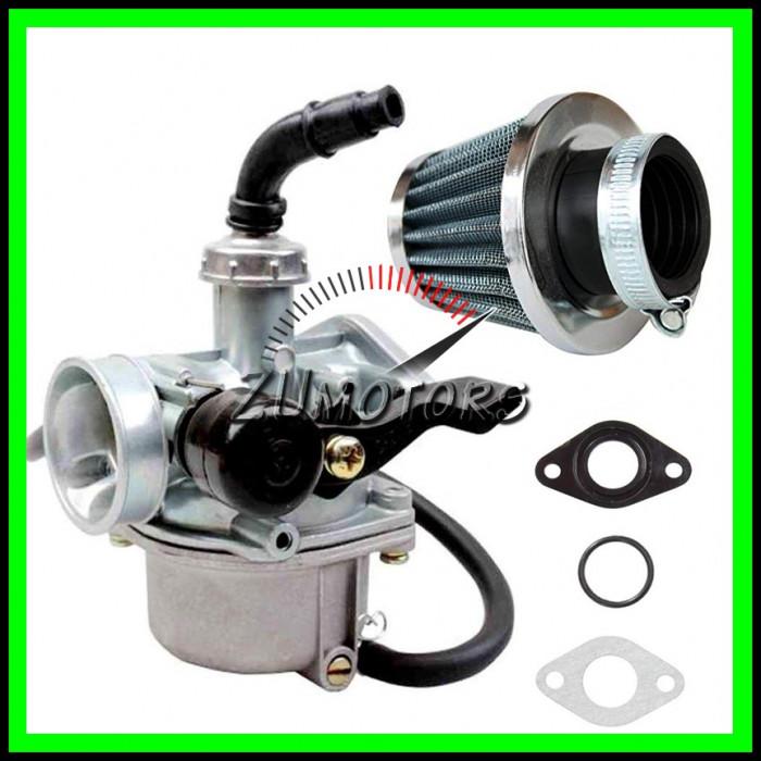 Carburator Atv 125 soc la Mana + Filtru Aer + Garnituri Carburator