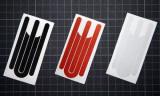 Sticker reflectorizant Curious Joe RXSPARE-BLACK, pentru Xiaomi Mijia M365 (Negru)