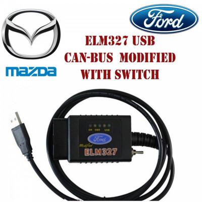 ForScan ELM327 Modificat interfata tester diagnoza Ford Mazda Romana foto