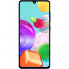 Telefon mobil Samsung Galaxy A41 64GB 4GB RAM Dual Sim 4G Prism Crush Blue
